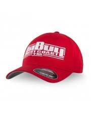 CZAPKA PIT BULL FULL CAP CLASSIC BOXING RED