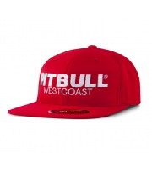 CZAPKA PIT BULL FULL CAP FLAT TNT RED