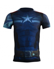 Rashguard Under Armour Capitan America