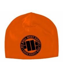Czapka na uszy Pit Bull Logo Orange