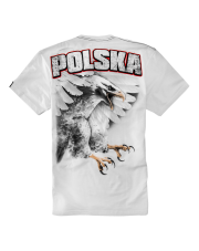 T-SHIRT PIT BULL EAGLE WHITE