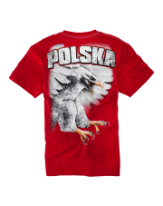 T-SHIRT PIT BULL EAGLE KSW 33 RED