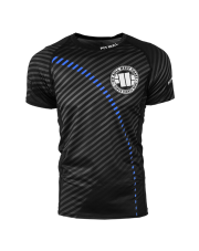 RASHGUARD PIT BULL STRIPES BLUE