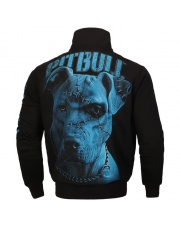 BLUZA PIT BULL BLUE EYED DEVIL IX ZIPPED ROZPINANA