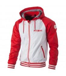 KURTKA PIT BULL HIGHLAND WHITE/RED
