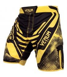 Spodenki MMA Venum Technical Black Yellow