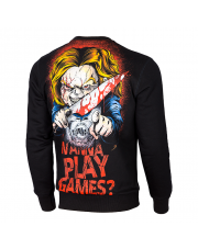 BLUZA PIT BULL WANNA PLAY GAMES 17 CREWNECK