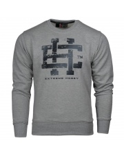 BLUZA EXTREME HOBBY CLASSIC EH CREWNECK GREY