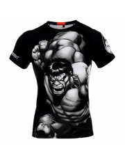 RASHGUARD POUNDOUT MARVEL HULK 2.0 SHORT SLEEVE