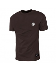T-SHIRT KOSZULKA PIT BULL SMALL LOGO BROWN