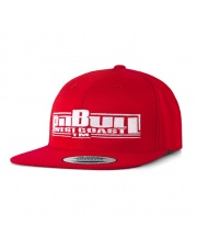 CZAPKA PIT BULL SNAPBACK FLAT BOXING RED