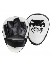 TARCZE BOKSERSKIE ŁAPY VENUM LIGHT FOCUS MITTS WHITE