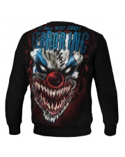 BLUZA PIT BULL TERROR CLOWN 18 CREWNECK BLACK
