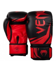RĘKAWICE BOKSERSKIE VENUM CHALLENGER 3.0 GLOVES BLACK/RED