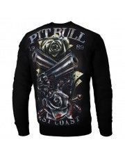 BLUZA PIT BULL PLAYER CREWNECK BLACK