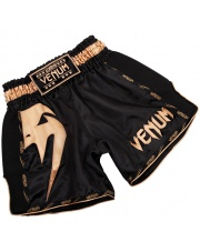 Spodenki Muay Thai VENUM GIANT SHORTS BLACK GOLD