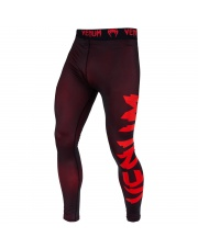 VENUM LEGINSY GIANT SPATS LEGGINSY RED/BLACK