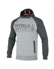 BLUZA PIT BULL LOGAN II PITBULL HODDED GREY