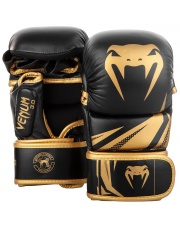 RĘKAWICE MMA VENUM CHALLENGER 3.0 SPARINGOWE GOLD