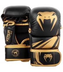 RĘKAWICE MMA VENUM CHALLENGER 3.0 SPARINGOWE GOLD