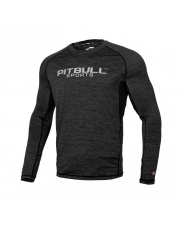 RASHGUARD PIT BULL PERFORMANCE PRO PLUS LONG SZARY