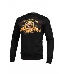 BLUZA PIT BULL MGM CREWNECK BLACK
