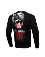 BLUZA PIT BULL WHERE IS MY MONEY ? CREWNECK