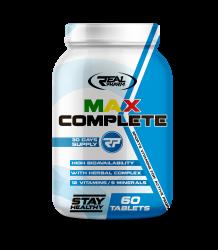 Real Pharm MAX Complete 60 tabs VIT MIN WITAMINY