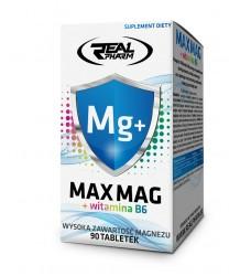 REAL PHARM MAX MAG+B6 90TABS MAGNEZ SKURCZ CHELA