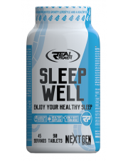 Real Pharm Sleep Well 90 tabs Regeneracja Sen
