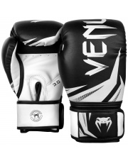 RĘKAWICE BOKSERSKIE VENUM CHALLENGER 3.0 GLOVES BLACK/WHITE