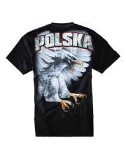 T-SHIRT PIT BULL EAGLE POLSKA BLACK