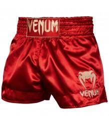 Spodenki Muay Thai VENUM CLASSIC SHORTS CZERWONE