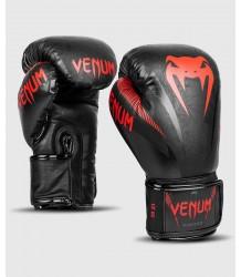 RĘKAWICE BOKSERSKIE VENUM IMPACT BLACK RED