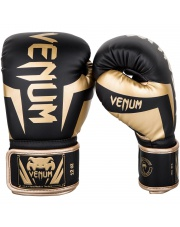RĘKAWICE BOKSERSKIE VENUM ELITE GLOVES BLACK GOLD