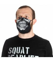 Maseczka Maska ochronna wielorazowa Poundout SKULL 2.0