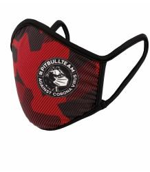 Maska Maseczka Pit Bull Dillard Red