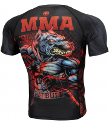 RASHGUARD PIT BULL MASTERS OF MMA