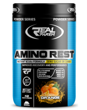 REAL PHARM AMINO REST 500G BCAA GLUTAMINA