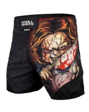 SPODENKI MMA GRAPPLINGOWE PIT BULL MESH WANNA PLAY GAMES