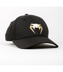 CZAPKA VENUM CLUB 182 CAP Z DASZKIEM BLACK/GOLD