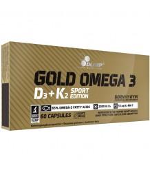 OLIMP GOLD OMEGA 3 D3+K2 SPORT EDITION- 60 CAPS