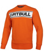 BLUZA PIT BULL POTOMAC ORANGE CREWNECK