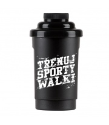 Shaker Octagon Trenuj Sporty Walki black 0.5l