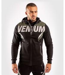 BLUZA VENUM ONE FC IMPACT HOODIE BLACK/KHAKI