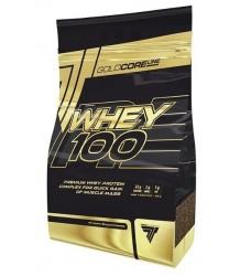 BIAŁKO Trec Whey 100 Gold Core 900g PROTEIN MASA RZEŹBA