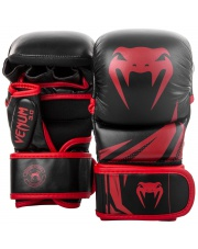 RĘKAWICE MMA VENUM CHALLENGER 3.0 SPARINGOWE RED