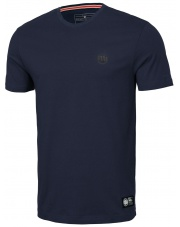 T-SHIRT KOSZULKA PIT BULL SLIM FIT SMALL LOGO NAVY