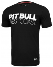 T-SHIRT KOSZULKA PIT BULL SLIM FIT TNT BLACK