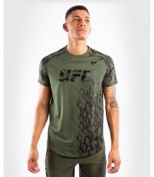 KOSZULKA PERFORMANCE VENUM UFC AUTHENTIC FIGHT WEEK KHAKI